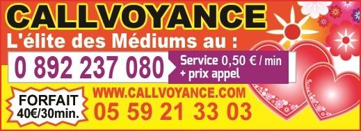 Callvoyance 13 tele star 43 9 16