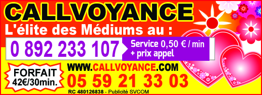 Callvoyance 17 tele star 43 9 16